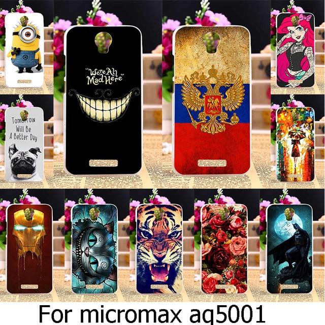 AKABEILA Soft TPU Phone Case For Micromax Canvas Power AQ5001 / Juice 2 AQ5001 5.0 inch Micromax AQ 5001 Case Cover Housing