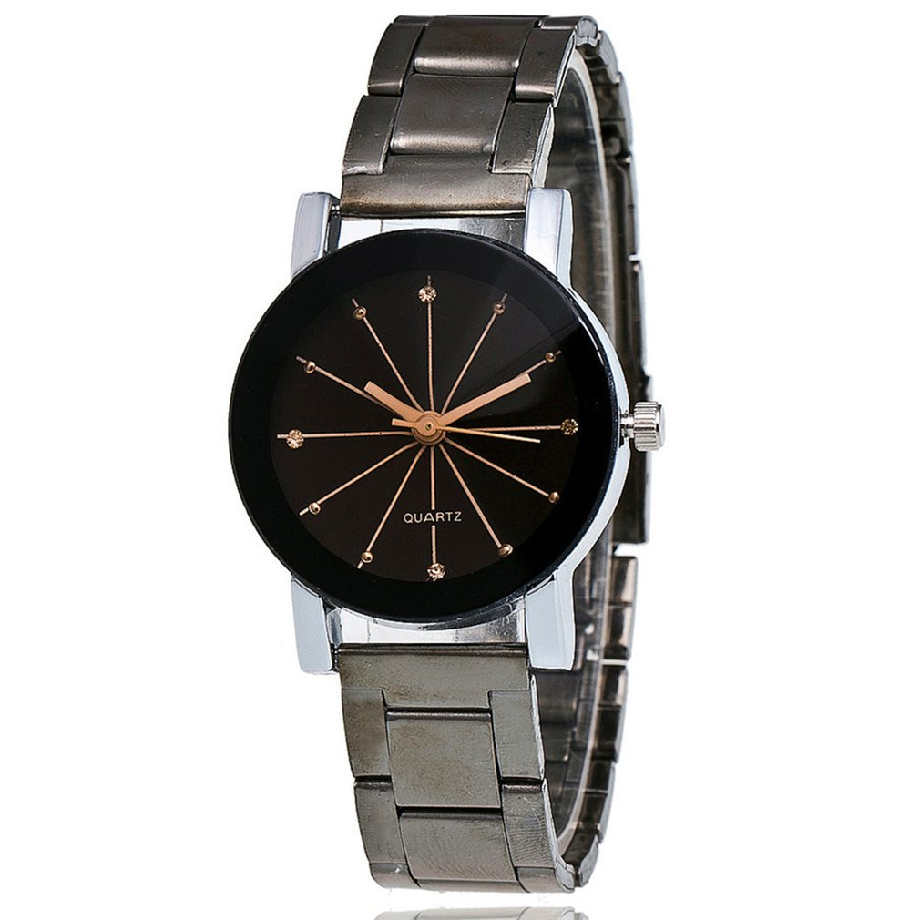 Fashion Slim Analog Quartz Watches With Steel Band Casual Fashion Wrist Watches Couples Watches Simple And ElegantZLF-0177