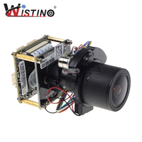 Wistino H 265 4MP IP Camera Module 4X Auto Zoom Varifocale Auto Lens 2 8 12mm