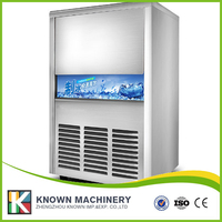 Professionele vervaardiging luchtkoeling commerciële ijs fabriek machine maken ijs met 16-40 min enkele ijs maken tijd