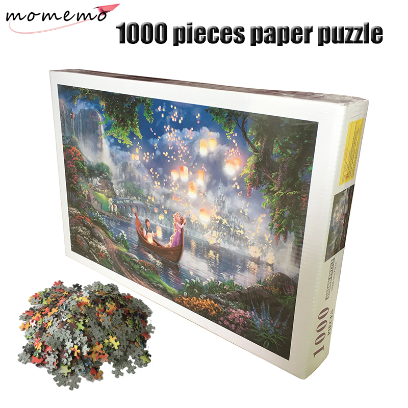 MOMEMO Let Your Dreams Fly Puzzle Adults 1000 Pieces Paper Puzzle Landscape Jigsaw Puzzle Children's Educational Toys Gifts