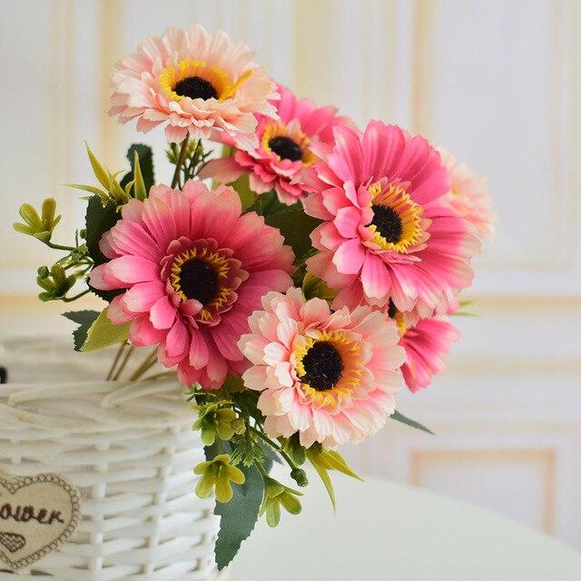 Aliexpress Com Kunstliche Blumen Silk Gerbera Fur Zuhause