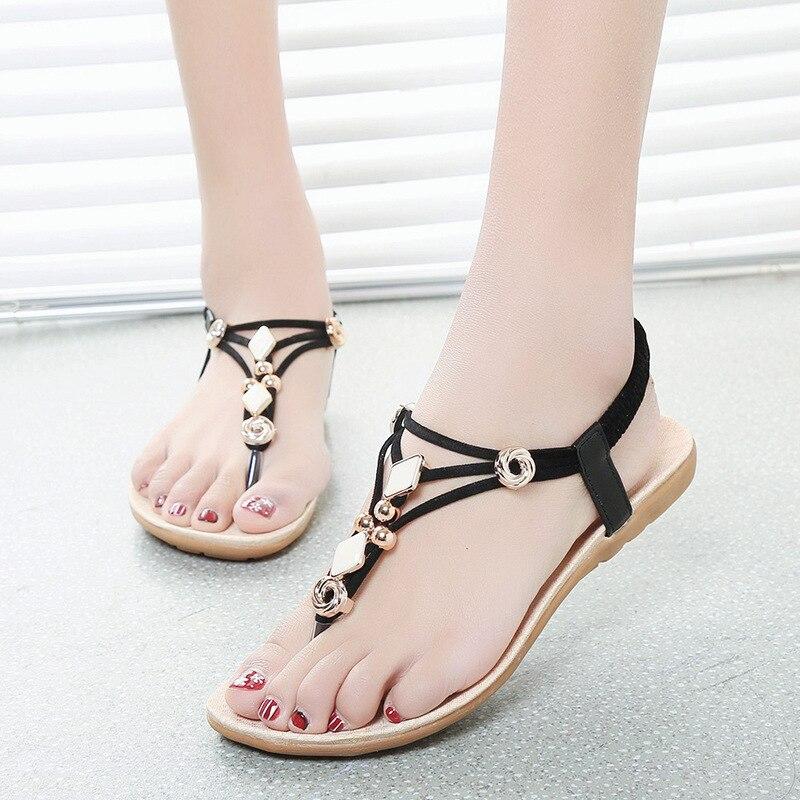 Simple Black Flip Flops