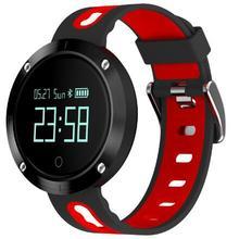 DM58 Smart Band сердечного ритма артериального давления часы IP68 водонепроницаемый спортивный браслет Смарт фитнес-трекер для IOS Android