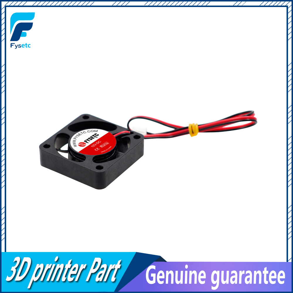 1pc  Black 3D Printer 4010 Cooling Fan 40x40x10mm 12V 0.11A With 2 Pin Dupont Wire 40x40x10mm