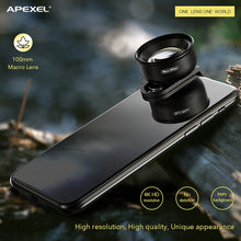 2019 Apexel 100mm Hundred Micro Lens Professional HD Universal Mobile Phone Lens 28#(China)