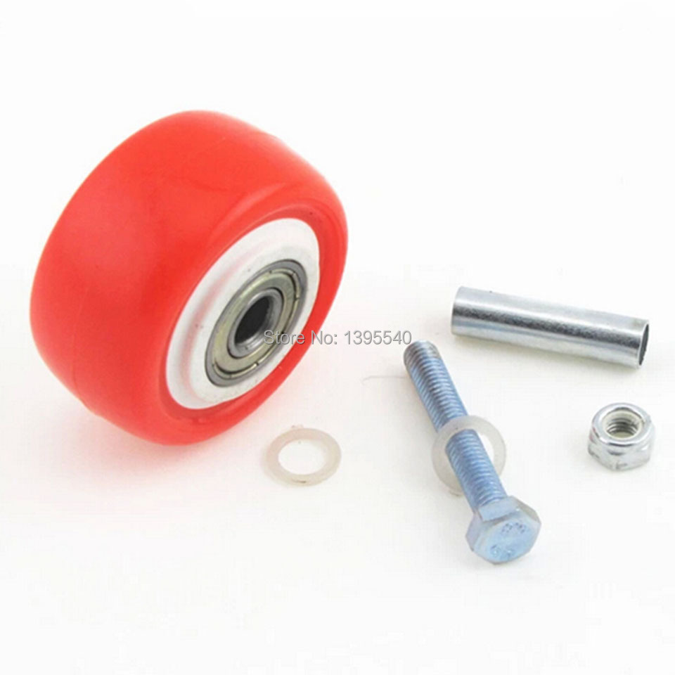 2'' Double Bearing Medium-duty Radlamelle Furniture Universal Caster Durable PU Castors Sofa Casters Chair Fast Pulley