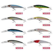 NOEBY Big Minnow 140mm/44g Floating 0-5m Trolling Fishing Lure Isca Artificial Para Pesca Hard Carp Bait Sea Fly Fishing Tackle