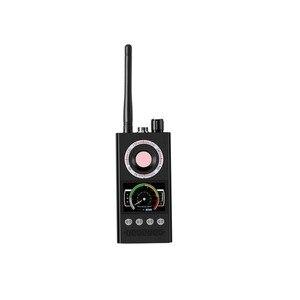 Image 2 - K68 רב פונקציה אנטי ריגול גלאי מצלמה GSM אודיו באג Finder GPS אות עדשת RF גשש לייזר אור חריר מצלמה Finder