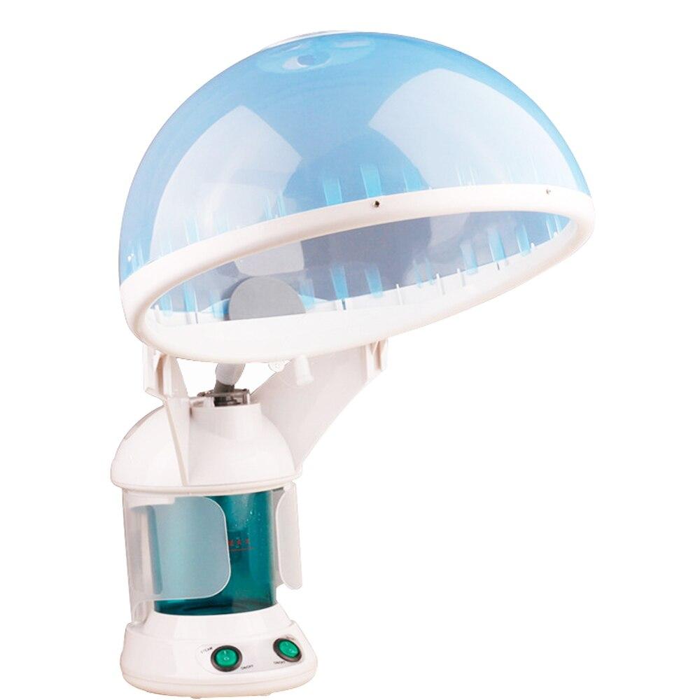 Multifonction 2 en 1 sauna vaporisateur cheveux vapeur et vapeur facial d'ozone de vapeur Arôme de Brume SPA Aromathérapie pulvérisateur