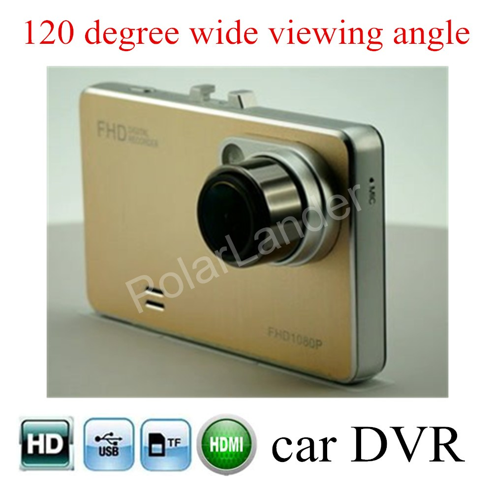 120 degree wide viewing angle H2000 2.7 inch LCD screen Car DVR Camera Recorder Night Vision G-Sensor Dash Cam Black Box