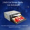 """7 """"в Тире Универсальный двойной 2 Din Автомобильный Радиоприемник Стерео vw/toyoota/mzada/passat Bluetooth GPS ПК Автомобиля audio DVD CD mp3-плеер usd sd"""