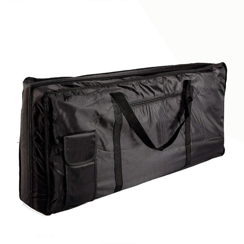 musical instruments storage case 61 key piano organ electone piano keyboard bag case black 100. Black Bedroom Furniture Sets. Home Design Ideas