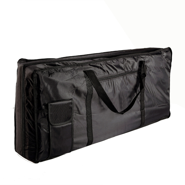 Musical Instruments Storage Case 61 Key Piano Organ Electone Piano Keyboard Bag Case Black 100*42*15cm