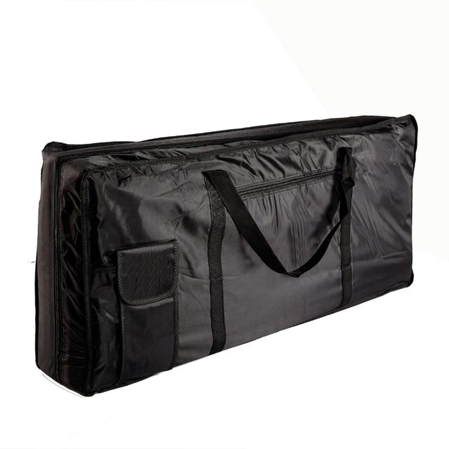 Musical Instruments Storage Case 61 Key Piano Organ Electone Piano Keyboard Bag Case Black 100*42*15cm