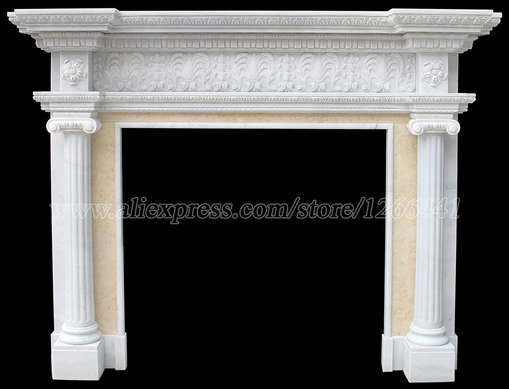 Online Get Cheap Antique Stone Fireplaces Aliexpress Com