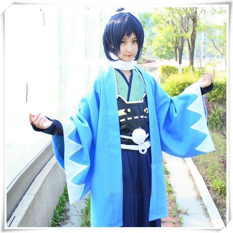 High Quality Halloween Japanese Men and Women Clothing Kimono Game Ranbu Online Yamato No Kami Yasusada Battle Cosplay Costume