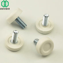 WHISM 4PCS Bolt Chair Feet Adjustable Sofa Cabinet Table Leg Slide Leveler Base Screw-in Floor Protector Furniture Accessories(China)