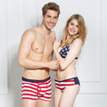 New men's and women's underwear cotton shorts 3 suit brand logo underwear sexy lingerie