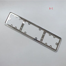 metal license plate frame license frame license frame was for eu automobiles accessories 1 pair free shipping