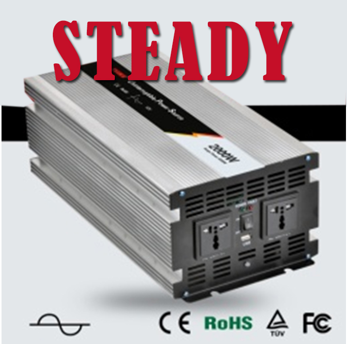 2000w pure sine wave inverter 24v 220v 2000 watt inverter battery charger 2kw solar pump generator inverter