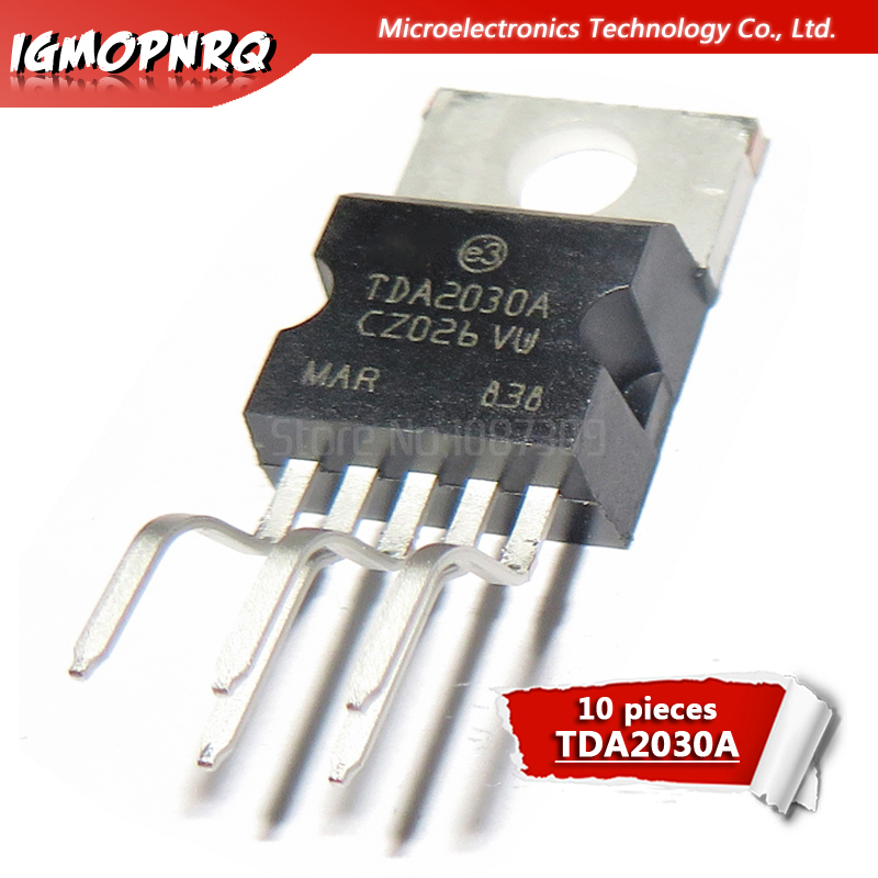 10pcs <font><b>TDA2030</b></font> TDA2030A audio <font><b>amplifier</b></font> circuit large p new original image