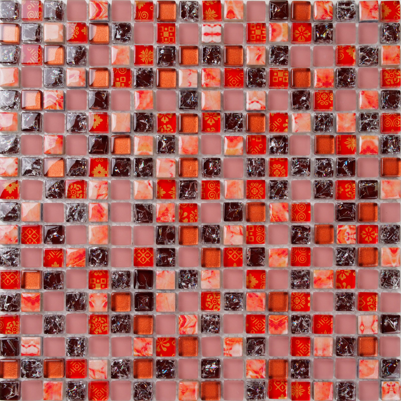 Compare prices on red mosaics  online shopping/buy low price red ...