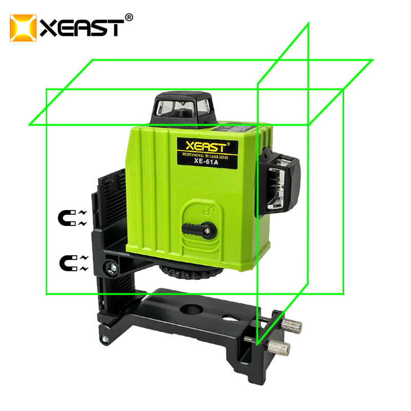 24 hour delivery] XEAST XE 61A 12 line laser level 360 Self