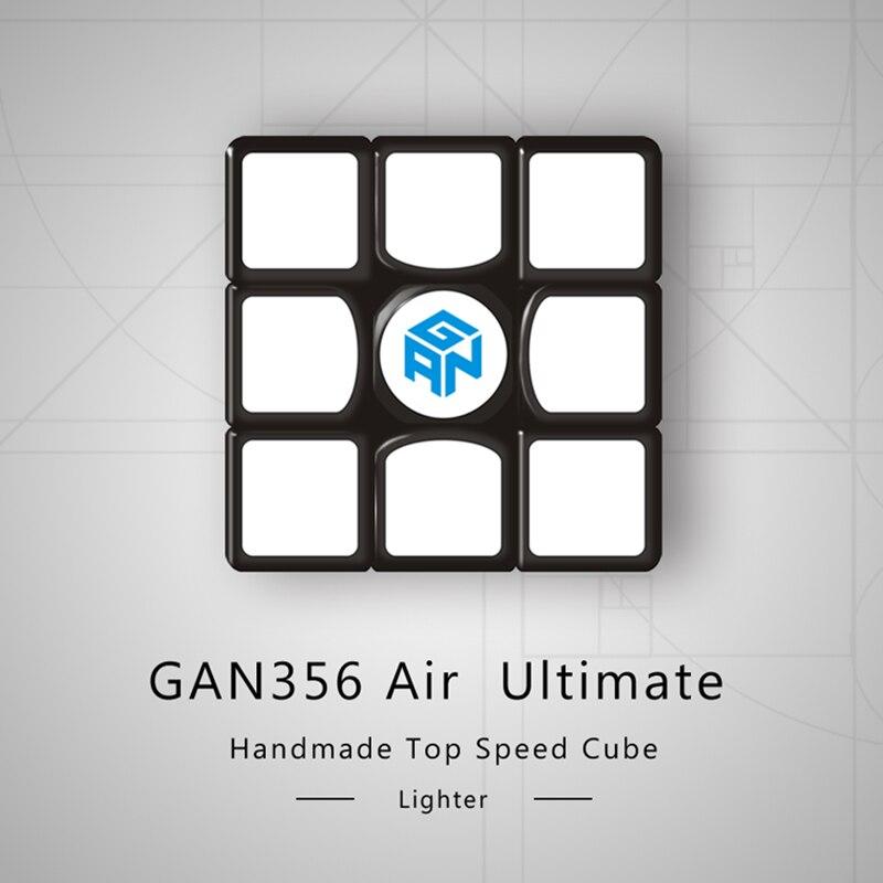 GAN356 Cube magique ultime de l'air 3x3x3 Puzzle de vitesse GAN 356 Air U Version Cube de compétition jouets éducatifs 56mm