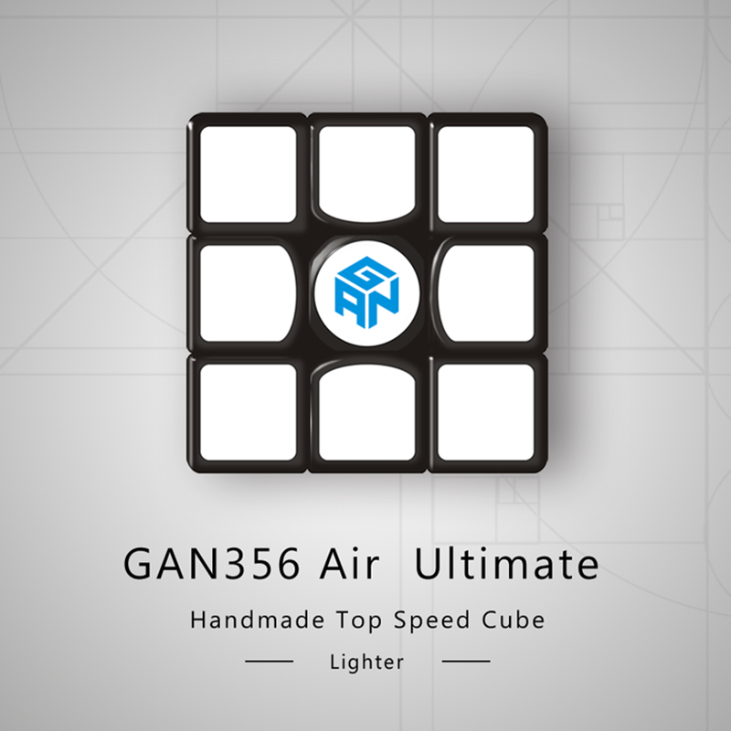 GAN356 Air Ultimate Magic Cube 3x3x3 Speed Puzzle GAN 356 Air U Version Competition Cube Educational Toys 56mm
