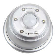 Ksol авто инфракрасный датчик pir 6-светодиодные лампы motion detector motion обнаружения света (серебро)