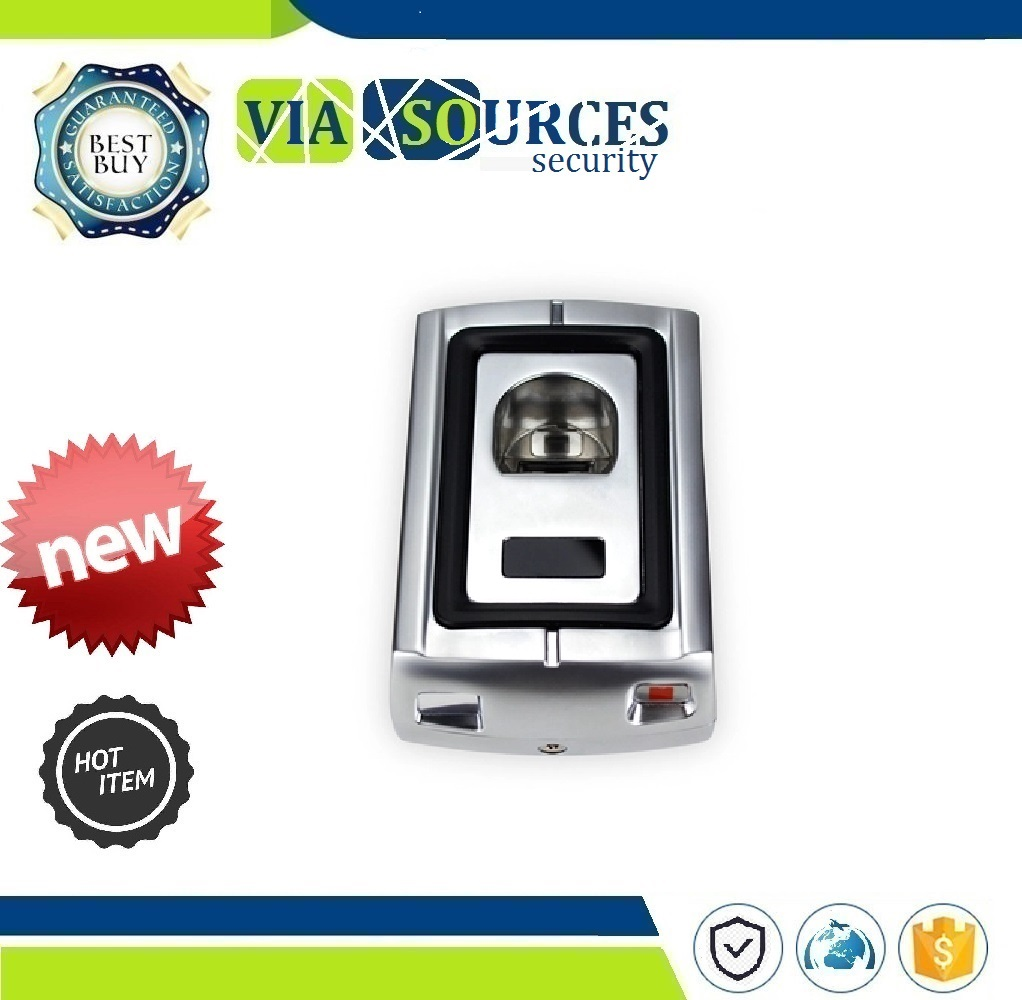 Lettore di Schede di 125 KHz RFID Scanner di Impronte Digitali Senza Tastiera Serrature con Cassa In Metallo di Impronte Digitali di Controllo di Accesso di ControlloLettore di Schede di 125 KHz RFID Scanner di Impronte Digitali Senza Tastiera Serrature con Cassa In Metallo di Impronte Digitali di Controllo di Accesso di Controllo