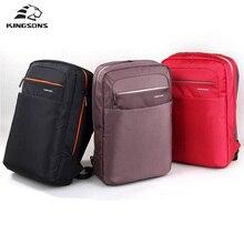 Kingsons Unisex Backpack 15 6 inch Academy Double font b Shoulder b font knapsack Travel Packsack
