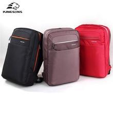 Kingsons Unisex Backpack 15.6 inch Academy Double Shoulder knapsack Travel Packsack School Bag Bolsas Mochilas Femininas 2017