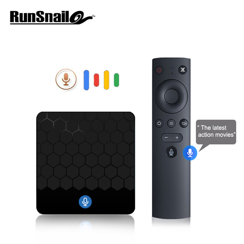 X88 mini Commande Vocale tv box Android TV Box Smart TV Box Android 7.1 2G16G Rockchip RK3328 Soutien 4 k médias lecteur set top box