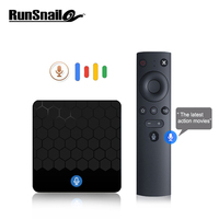 X88 mini Voice Control tv box Android TV Box Smart TV Box Android 7.1 2G16G Rockchip RK3328 Support 4K Media player set top box