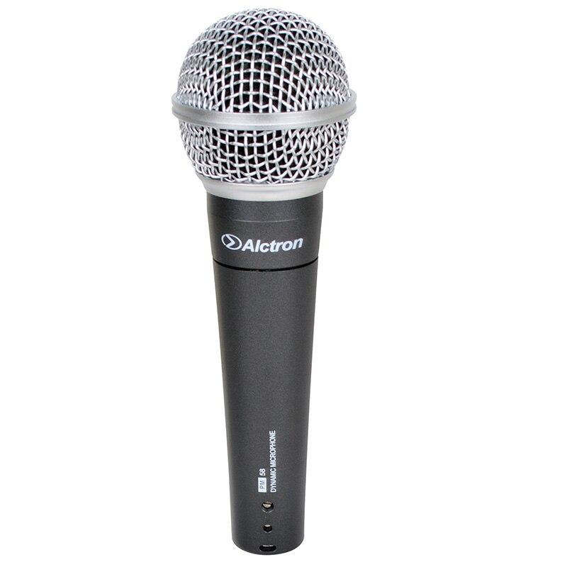 Alctron PM58 professionnel filaire de poche musique instrument microphone dynamique pour ktv, d'enregistrement à domicile, stade performance