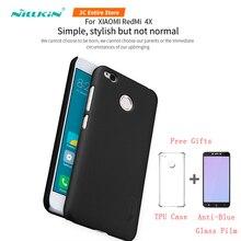 Nillkin чехол для телефона для Xiaomi Redmi 4X чехол матовый Обычный чехол для телефона для Redmi 4X бизнес защитный чехол для компьютера для Redmi 4X чехол