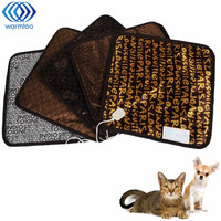 Square Multifunctional Heated Electric Blanket Waterproof Heating Office Chair Cushion Pad Safety Thermostat Warm Carpet
