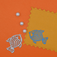 Fish Metal Dies Cutting For Scrapbooking Decorative Animals Paper Card DIY Gift Box Craft New