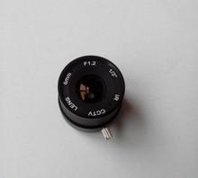 HOT SALE F1.2 6mm 1/3″ CS Mount Fixed IR CCTV Camera Lens