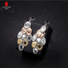 2017 Trend Trendy Hot Sale Jewelry Tresor Charm Women Boho Stud Earrings Set In Stainless Steel