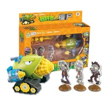 Game of Plants vs Zombies Figure Set PVC Action PVZ Toys Plants Vs Zombies Toy все цены