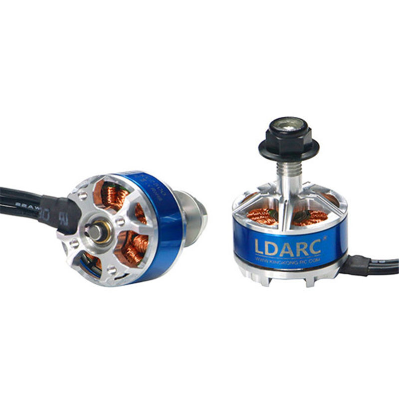 LDARC 200GT Part XT1806 1806 2500KV 3-4S Brushless Motor Black/Silver for RC Multicopter Drone FPV Racing Spare Part Accessories