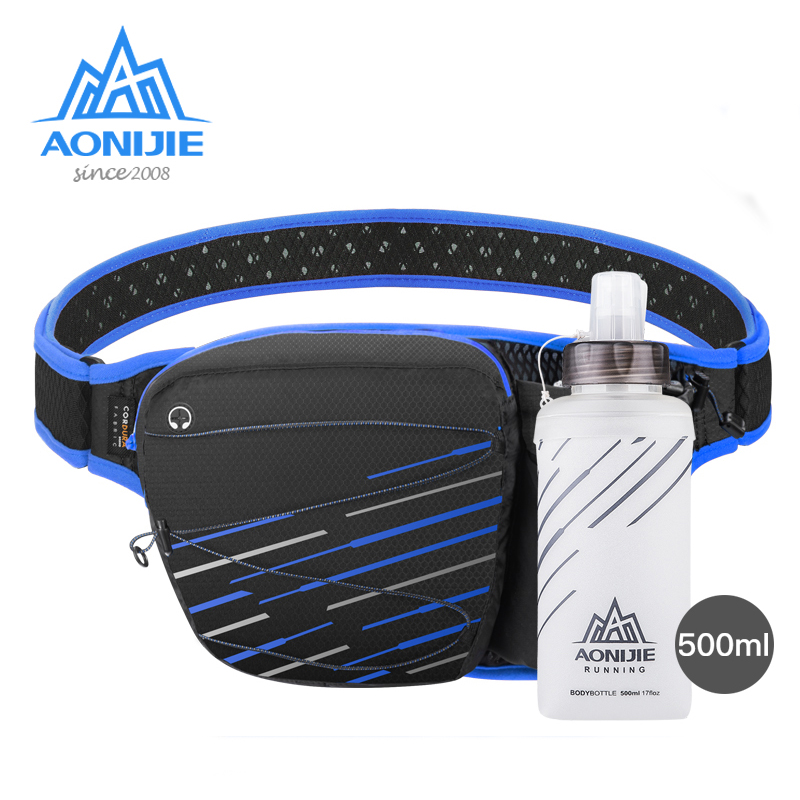 AONIJIE W949 Marathon Jogging Cycling Running Hydration Belt Waist Bag Pouch Fanny Pack Sack Cell Phone Holder Hiking Camping