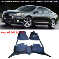 Auto Accessories Floor Mats Carpets Foot Pads Protector Cover For Chevrolet Malibu 2013 2017 Car Styling