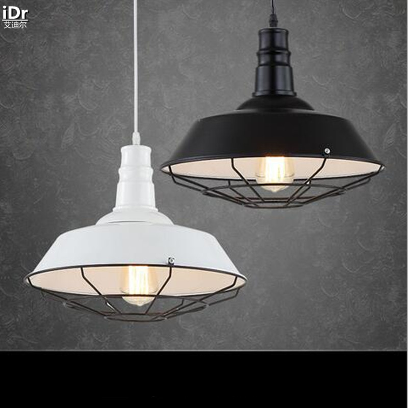 Continental Creative Iron Aluminum Light Shining Retro Living Room Dining Den Bedroom Lighting Pendant Lights