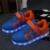 Cargador usb simulación cesta niños shoes tenis feminino led con luz led entrenadores zapatos de niño chico y chica luminous sneakers