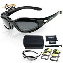 Мотоцикл Очки армии поляризационные Солнцезащитные очки для женщин для Охота Стрельба Airsoft eyewearmen защита глаз ветрозащитный Moto очки UV400