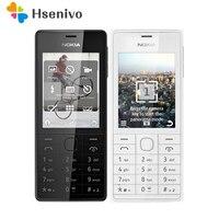 515 Оригинальный разблокированный телефон Nokia 515 Одиночная двойная sim-карта 2,4 дюйма 5MP камера 1200 мАч одноядерный мобильный телефон, бесплатна...